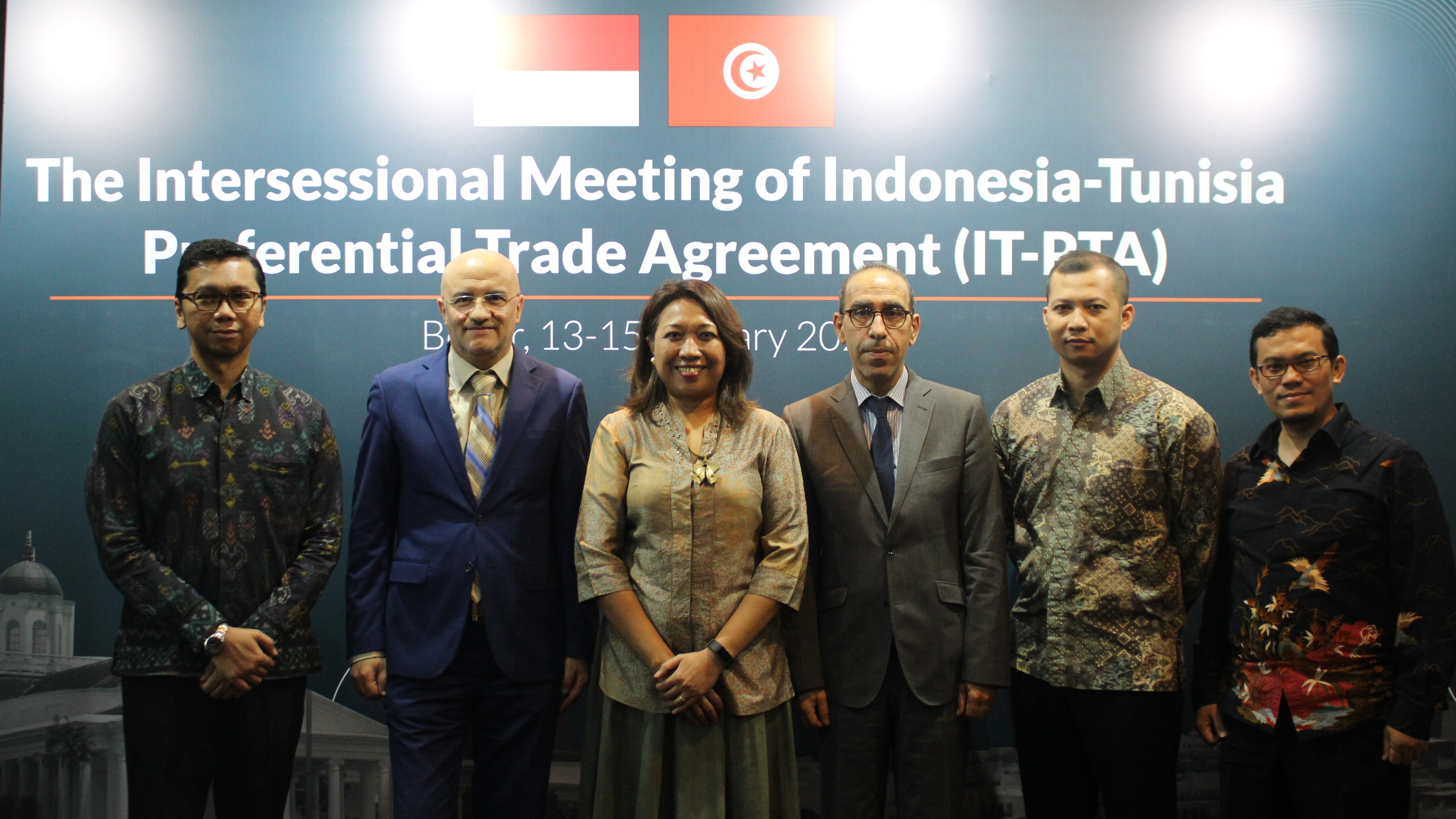 The Intersessional Meeting of Indonesia-Tunisia Preferential Trade Agreement